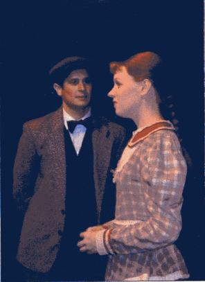 Gilbert in 'Anne of Green Gables' at ArtsWest Theatre.