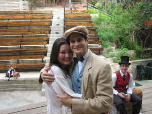Sebastian in 'Twelfth Night' at Will Geer Theatricum Botanicum.