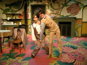 Benjamin Cohen in 'The Underpants' at Boise Contemporary Theatre.