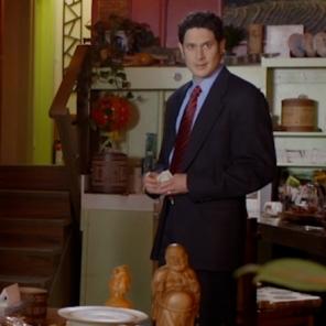 Husband in 'The Three Stars'.