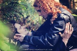 Reed Pickering in 'Dump Site' at Seattle Immersive Theatre